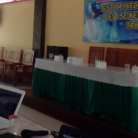 16 Desa di Gunem Mengikuti Pelatihan Sistem Informasi Desa